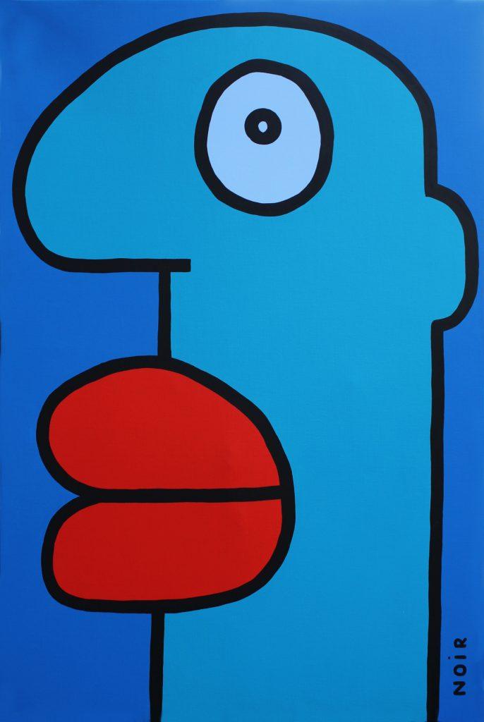 Thierry Noir - Blue Head (HR)